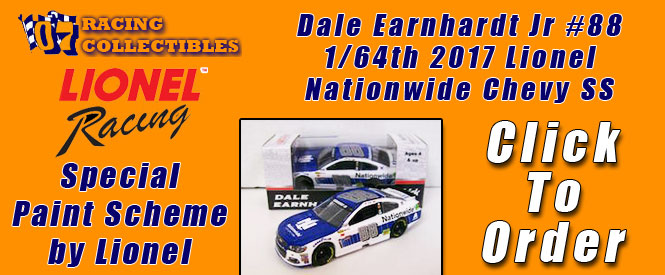Dale Earnhardt Jr #88 1/64th 2017 Lionel Goody's Chevy SS