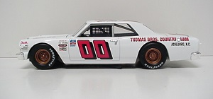 Sam Ard #00 1/24th Lionel 1965 Thomas Brothers Country Ham Chevelle NASCAR Classic