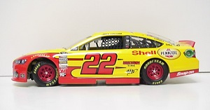 Joey Logano #22 1/24th 2013 Lionel Shell Ford Fusion