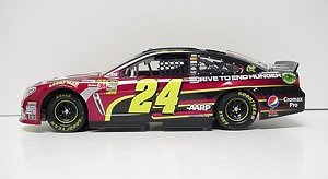 Jeff Gordon #24 1/24th 2013 Lionel DTEH AARP Chevy SS