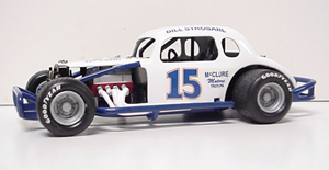 Bullet Bill Strosahl #15 1/25th custom built modified coupe