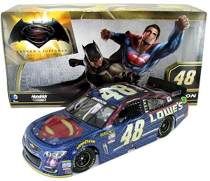 Jimmie Johnson #48 1/24th 2016 Lionel Lowe's/Superman Chevy SS