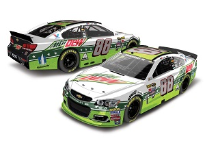 Dale Earnhardt Jr. #88 1/24th 2016 Lionel Mountain Dew All Star Chevy SS