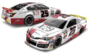 Natalie Decker #25 1/64th 2018 Lionel N29 Capital Partners ARCA Toyota Camry