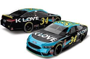 Michael McDowell #34 1/64th 2018 Lionel K-Love Ford Fusion