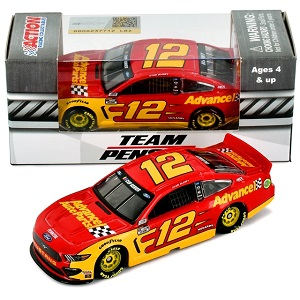 Ryan Blaney #12 1/64th 2020 Lionel Advance Auto Parts Mustang