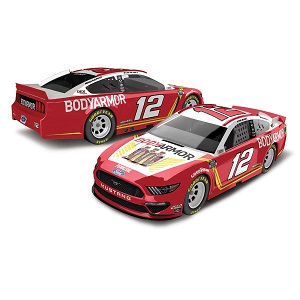 Ryan Blaney #12 1/64th 2020 Lionel Bodyarmor Mustang