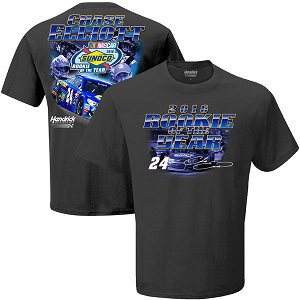 Chase Elliott #24 NAPA 2016 Sprint Cup Rookie of the Year gray tee