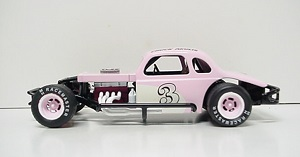 Chuck Akulis #3 1/24th scale Custom built coupe modified