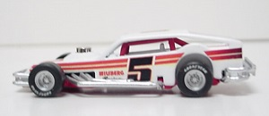 Greg Sacks/Charlie Jarzombek #5  Wilsberg Racing  1/64th scale Cavalier asphalt modified