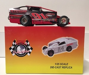 Billy Decker #91 1/25th scale Nutmeg Gypsum dirt modified